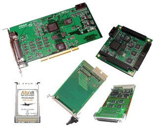 ARINC Interface Cards and Software, Interface Cards, FPGA IP, Advanced Application Software, Analyzer and Validation Software.