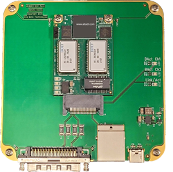 1553 Development Card with Ethernet, USB-C and RJ-45